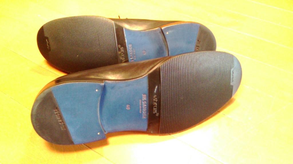 ジルサンダーの靴修理
