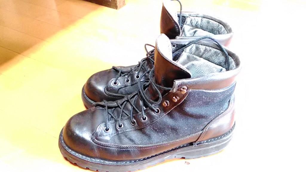 ダナーの靴修理