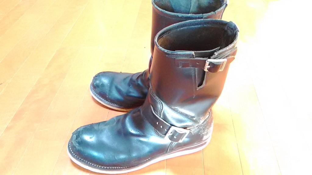 レッドウィングのブーツ修理