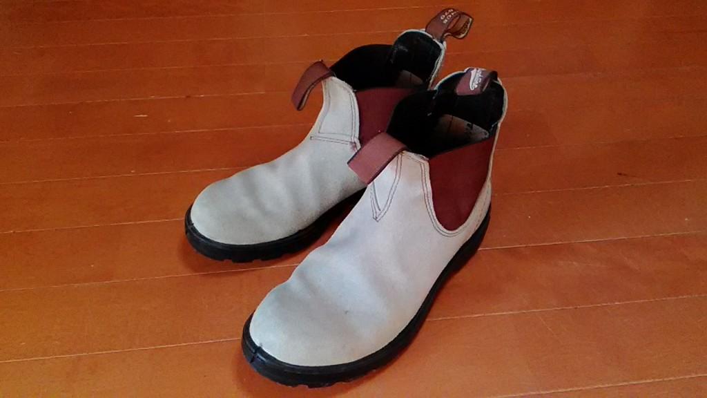 加水分解したソールのオールソールの靴修理