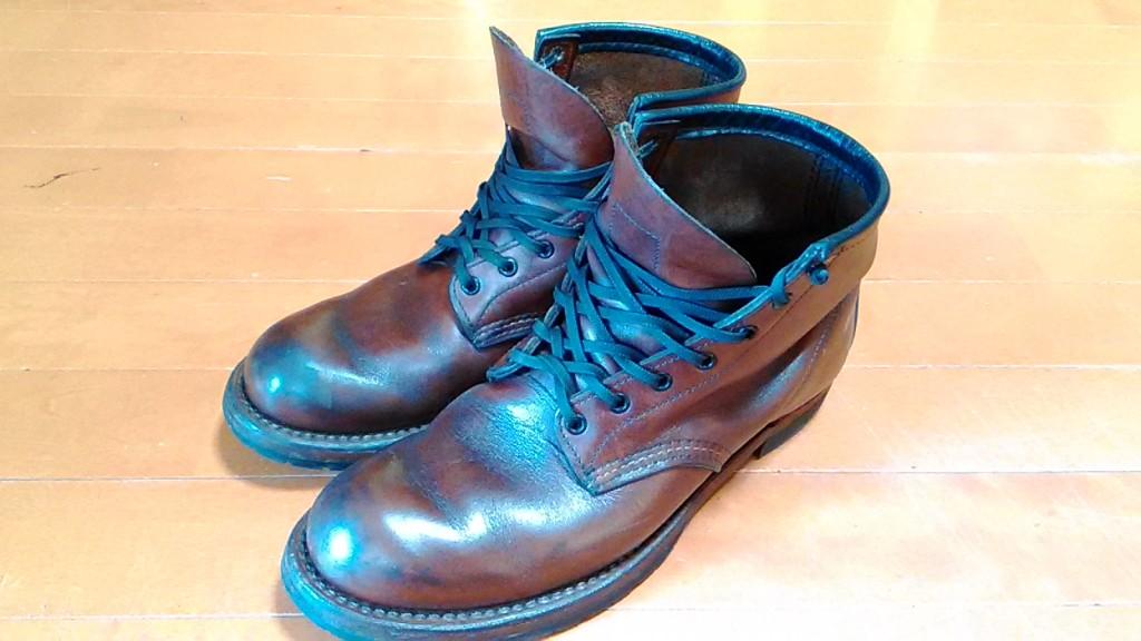 レッドウィングのブーツのヒール交換の靴修理