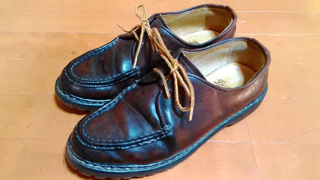 ダナーの靴のヒールの靴修理