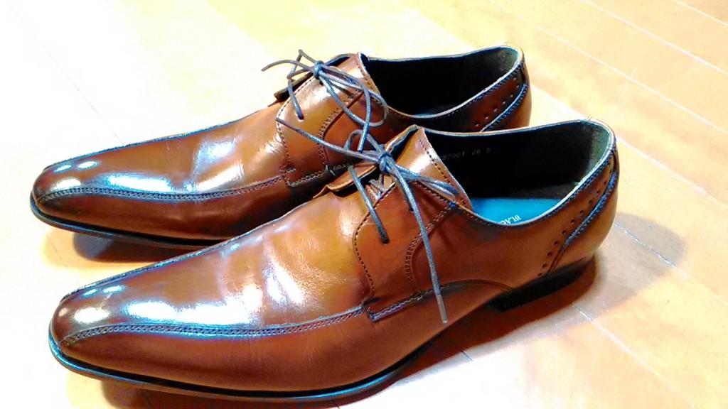 色がはげてしまったアッパーのつま先補修の靴修理
