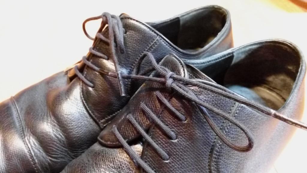 グッチの外羽根ストレートチップのオールソールの靴修理