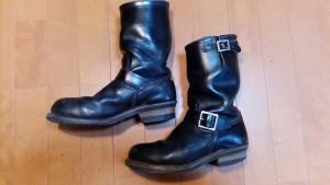 レッドウィングのブーツのオールソールの靴修理