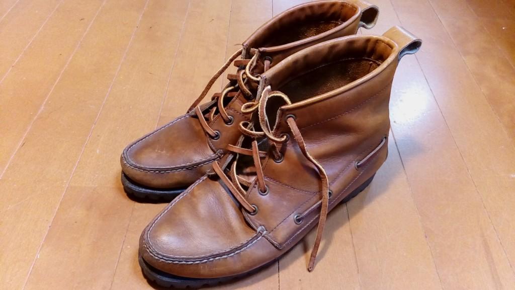 ブカブカのブーツの靴修理