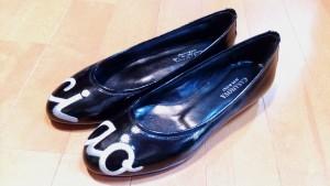 ブカブカ・大きい靴の修理10:ブカブカのパンプスの靴の修理