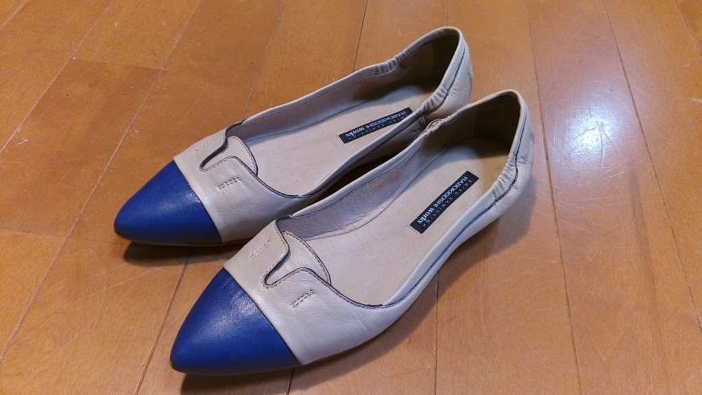キツイ・小さいパンプスの靴の幅出し靴修理10