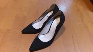 キツイ・小さいパンプスの靴の幅出し靴修理11