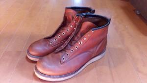 レッドウィングの靴修理9:レッドウィングのブーツの丸洗いの靴修理