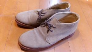 靴修理品120:ウォークオーバーのヒール交換の靴修理