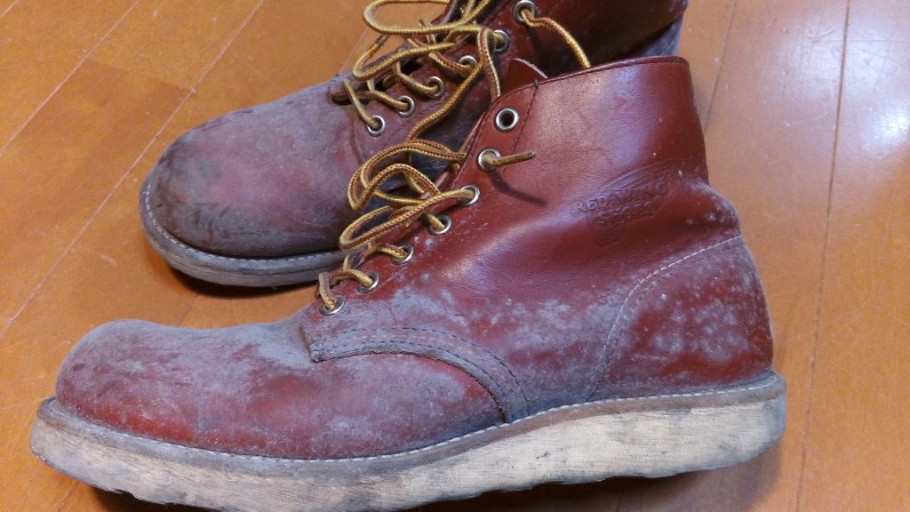 レッドウィングの靴修理13:レッドウィングのブーツのオールソールの靴修理
