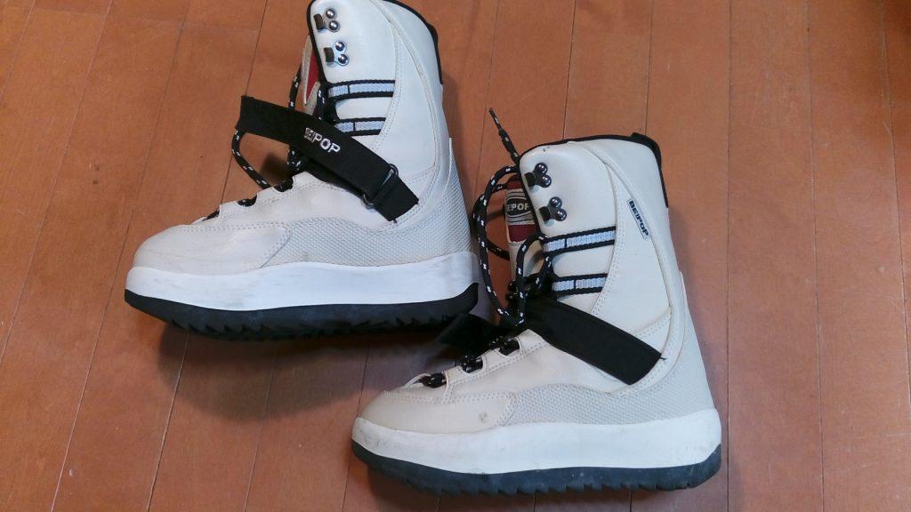 靴修理品130:スノボブーツのソール剥がれの靴修理