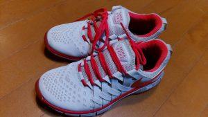 靴修理品132:ナイキのスニーカーのかかと内部の靴修理