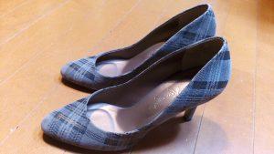 キツイ・小さいレディースパンプスの幅出し靴修理18