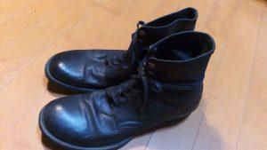ブカブカ・大きい靴の修理16
