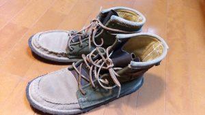 キツイ・小さい靴の幅出し靴修理21