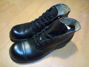 キツイ・小さい靴の幅出し靴修理25
