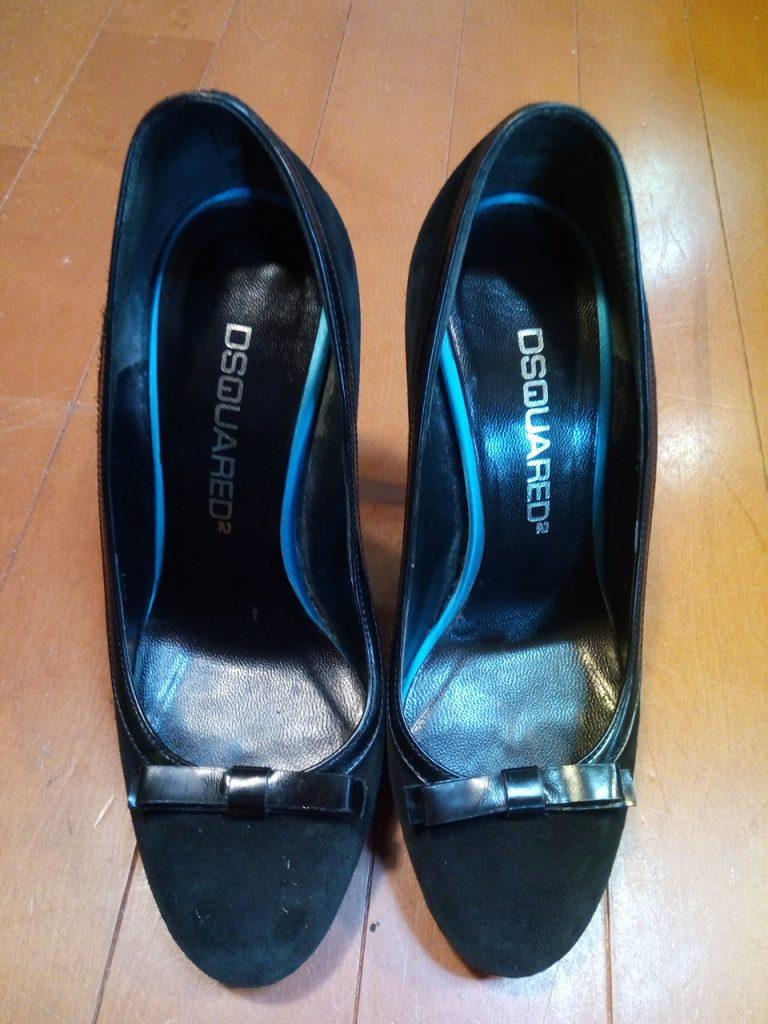 DSQUARED2のレディースハイヒールの靴修理2