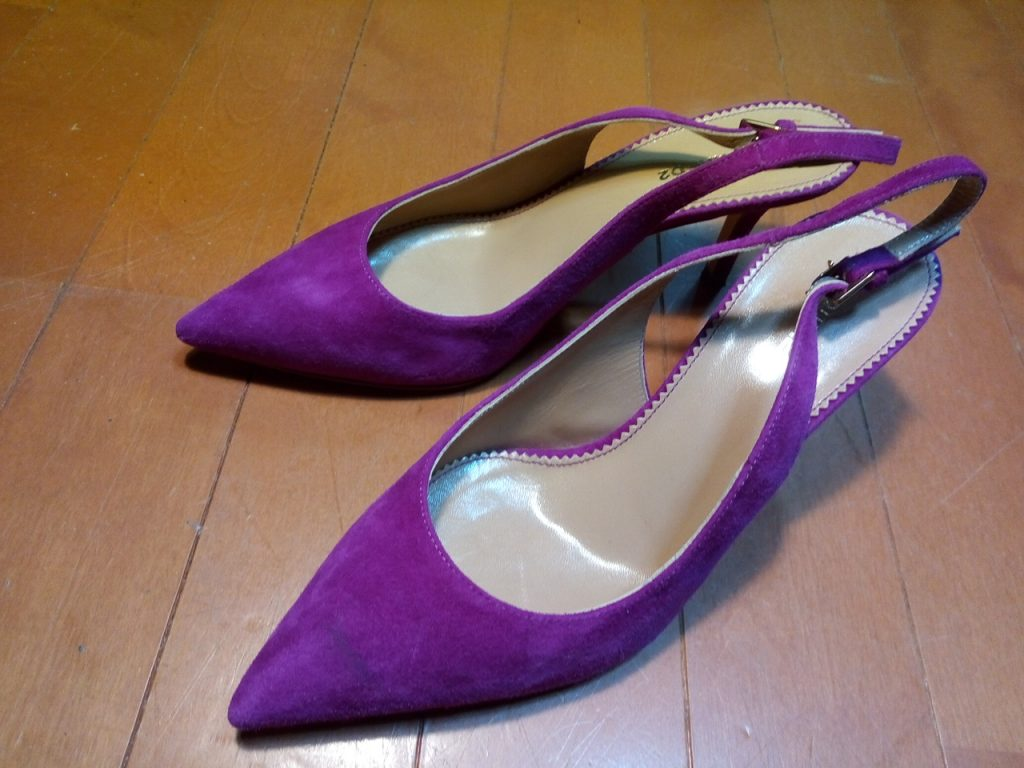 DSQUARED2のレディースハイヒールの靴修理5