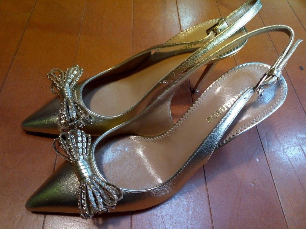 DSQUARED2のレディースハイヒールの靴修理4
