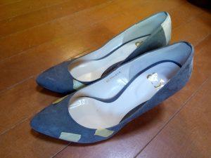 キツイ・小さい靴の幅出し靴修理30