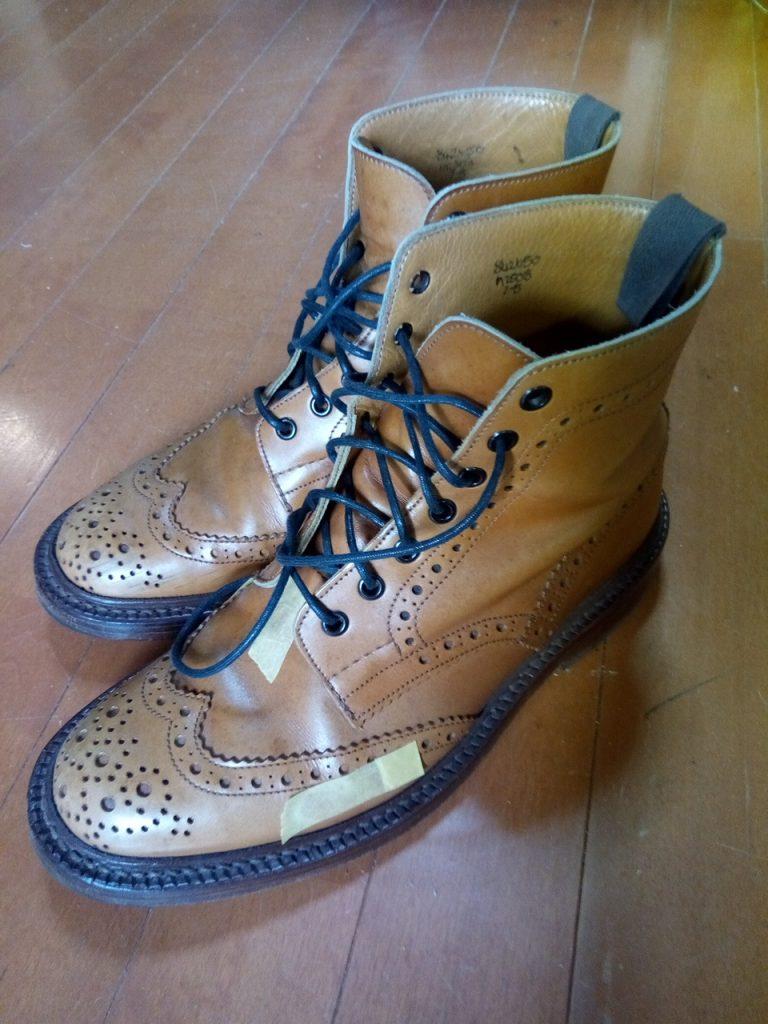 トリッカーズの靴修理品2