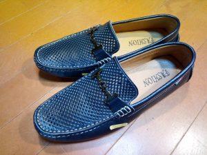 キツイ・小さい靴の幅出し靴修理31