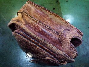 セカンドバッグのオールリフレッシュの鞄修理