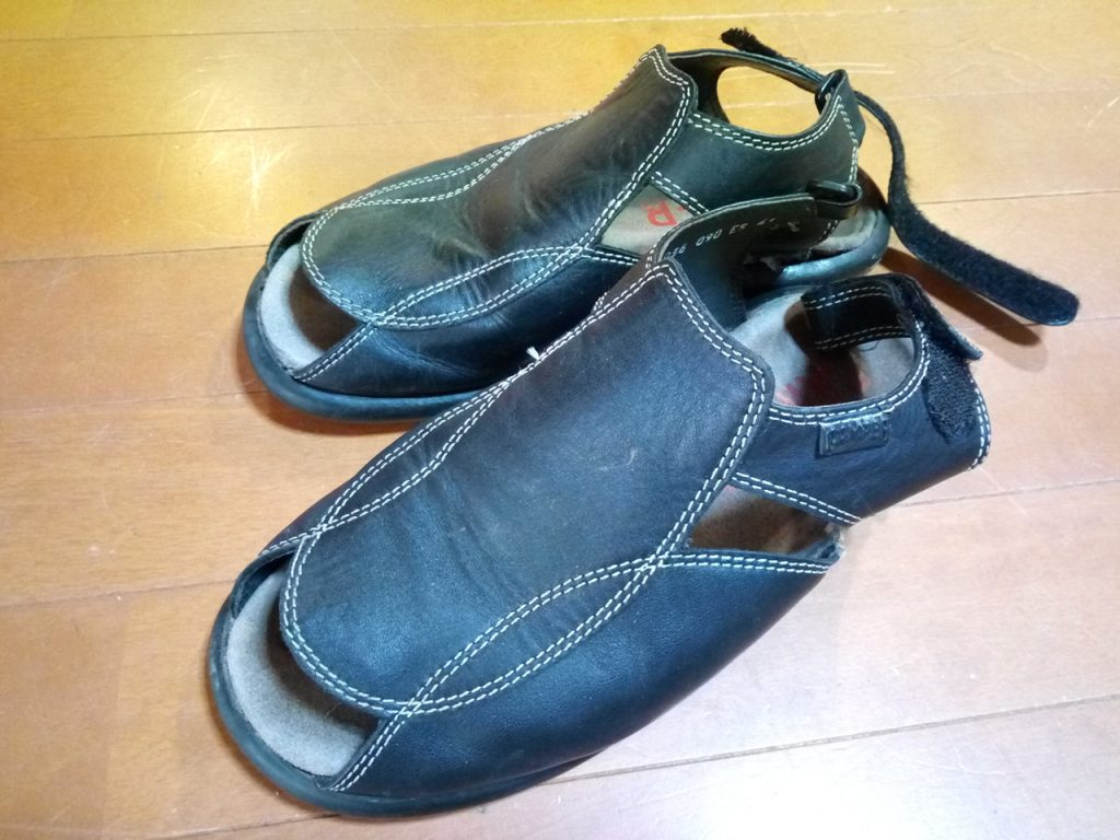 CAMPERの靴修理4