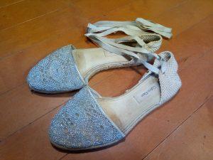 カルバンクラインのサンダルの丸洗いの靴修理