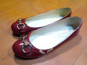 キツイ・小さい靴の幅出し靴修理33