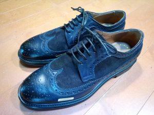キツイ・小さい靴の幅出し靴修理36