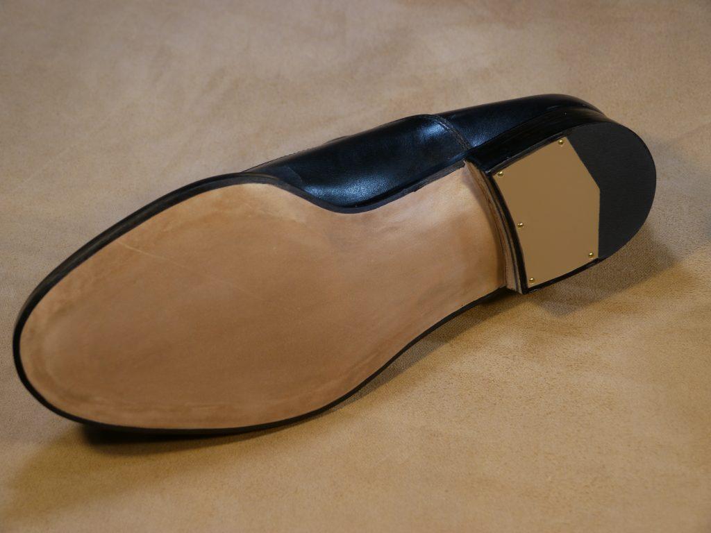 オーダーメイド靴のオールソールの修理