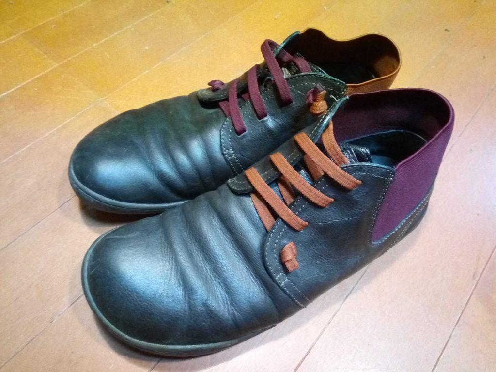 CAMPERの靴修理5
