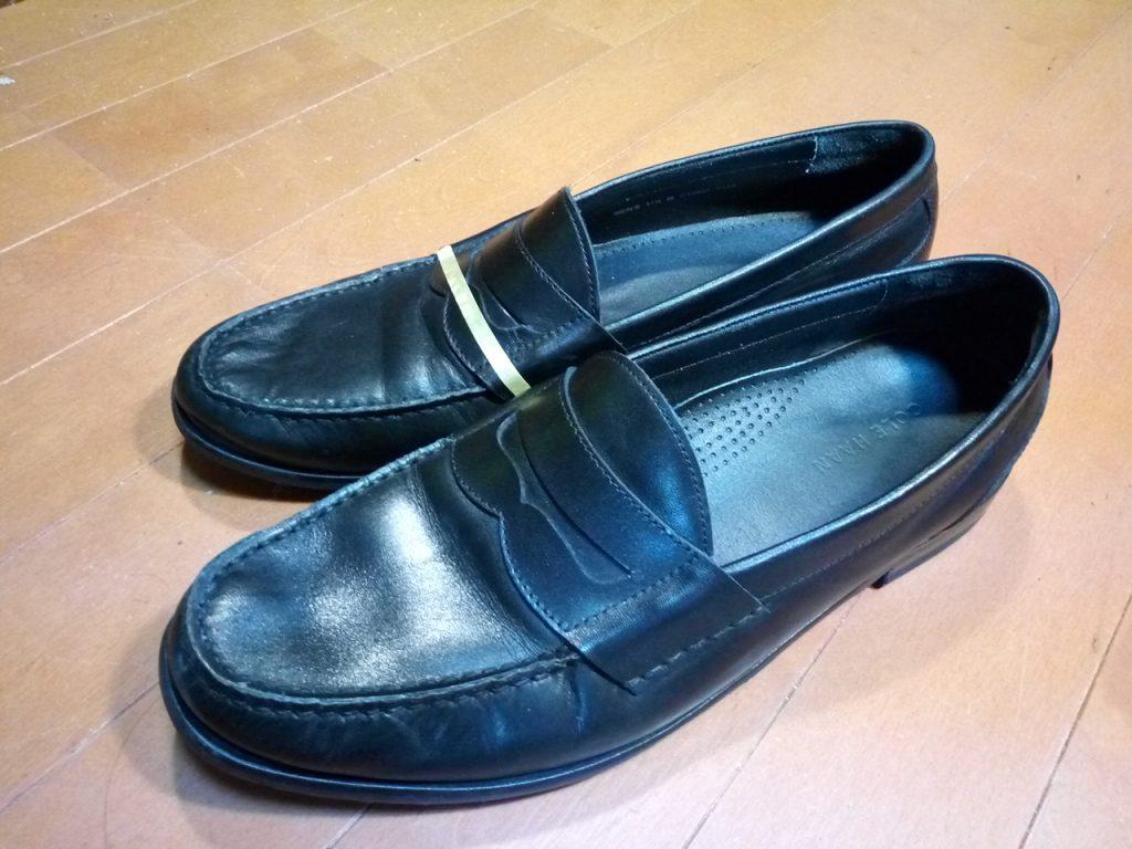 キツイ・小さい靴の幅出し靴修理39