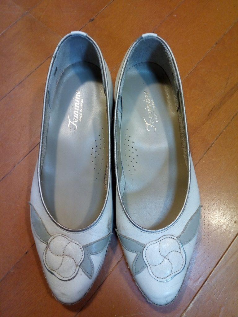 レディース・パンプスのインソール交換の靴修理
