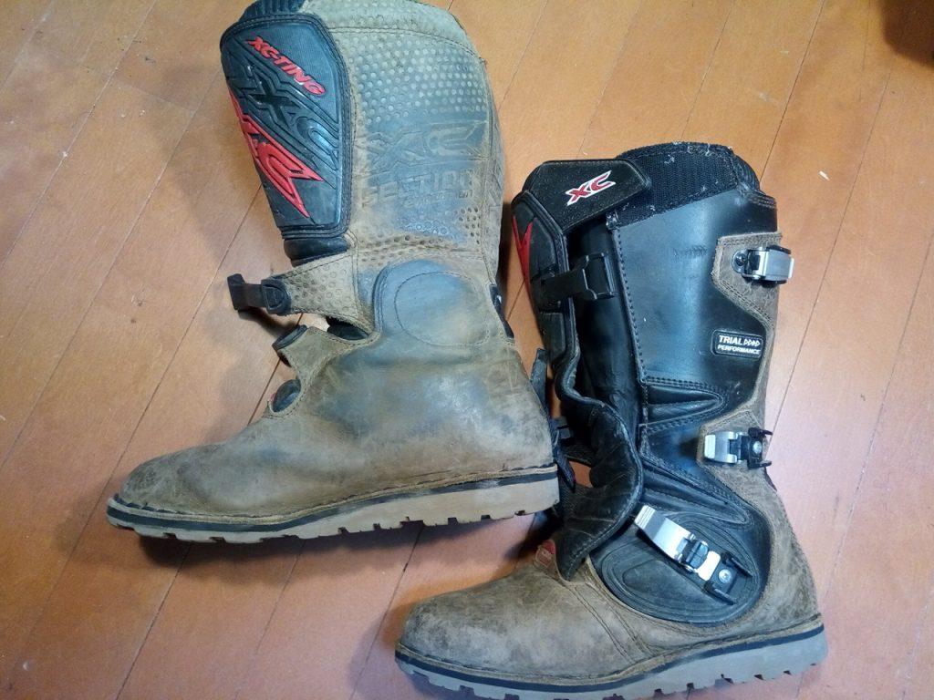 バイク・オートバイ用ブーツ・靴修理6