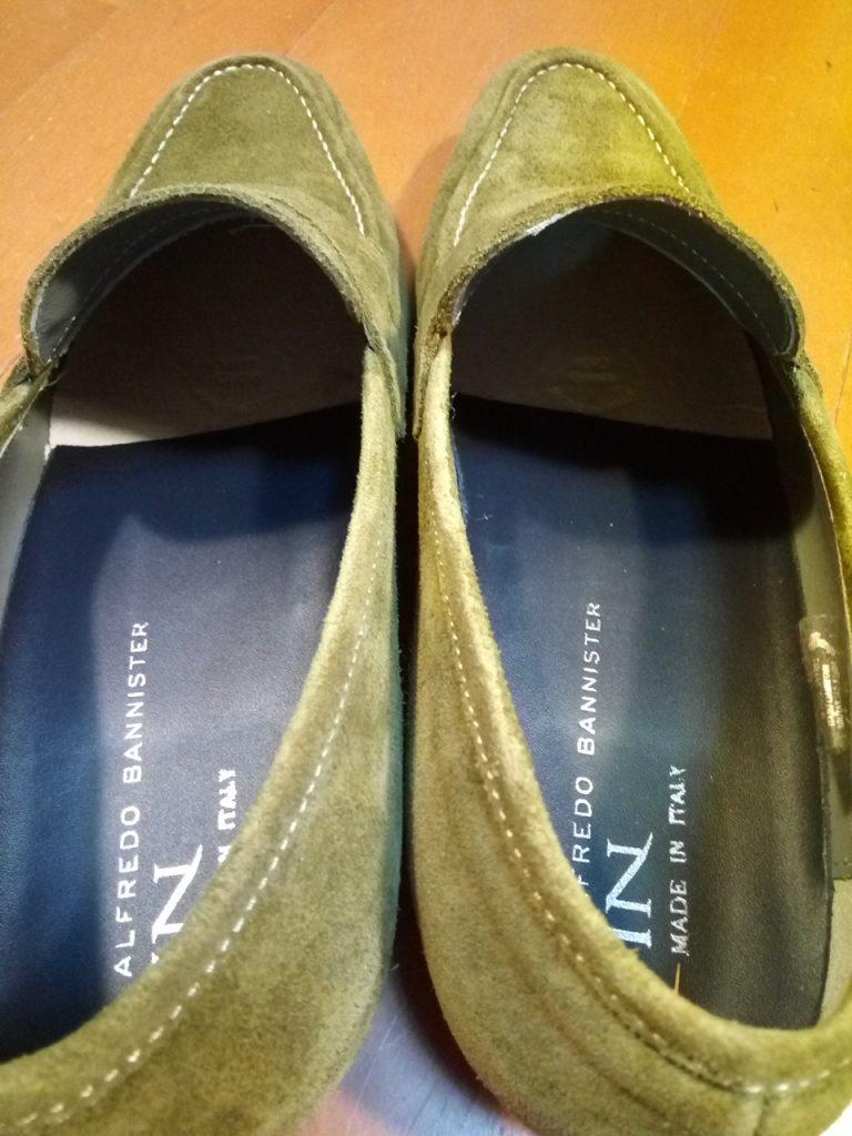 靴が大きい・ブカブカの靴の修理22