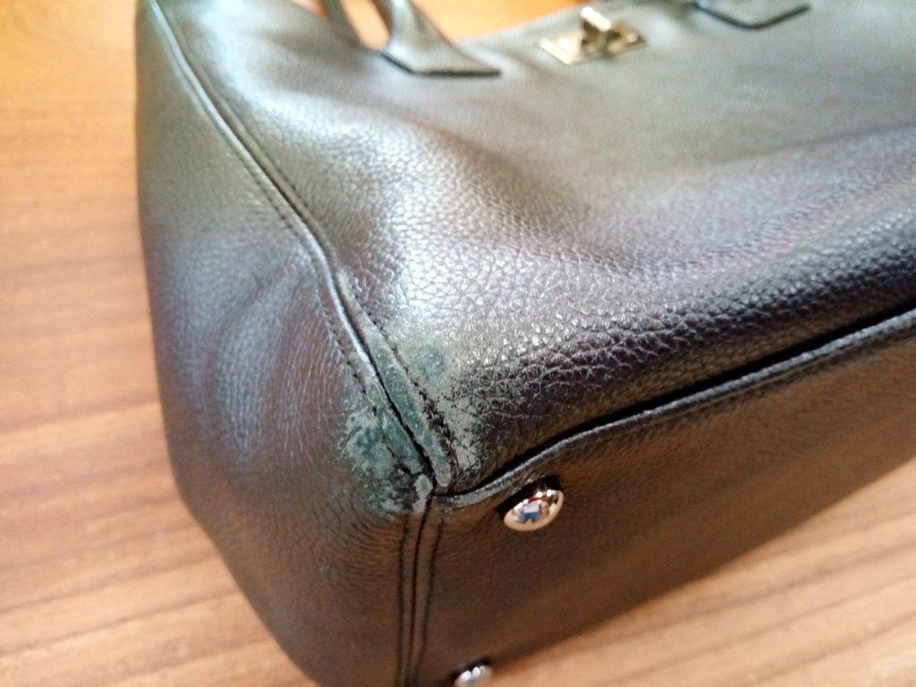 レディースバッグの持ち手交換のカバン修理