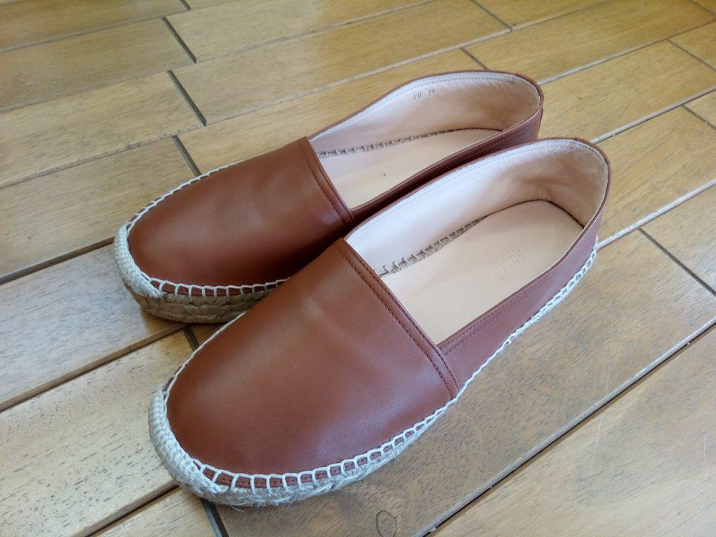 キツイ・小さい靴の幅出し靴修理41