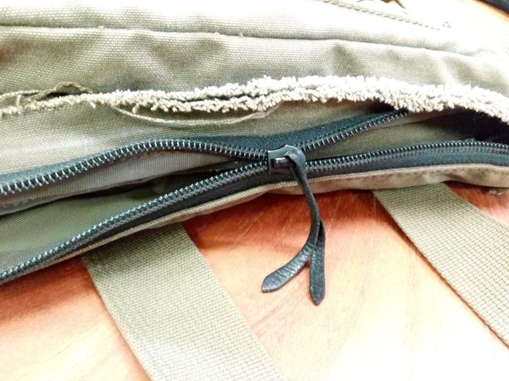 ポーターのバッグのファスナーのカバン修理