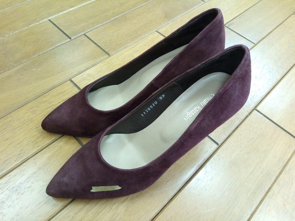 キツイ・小さい靴の幅出し靴修理44