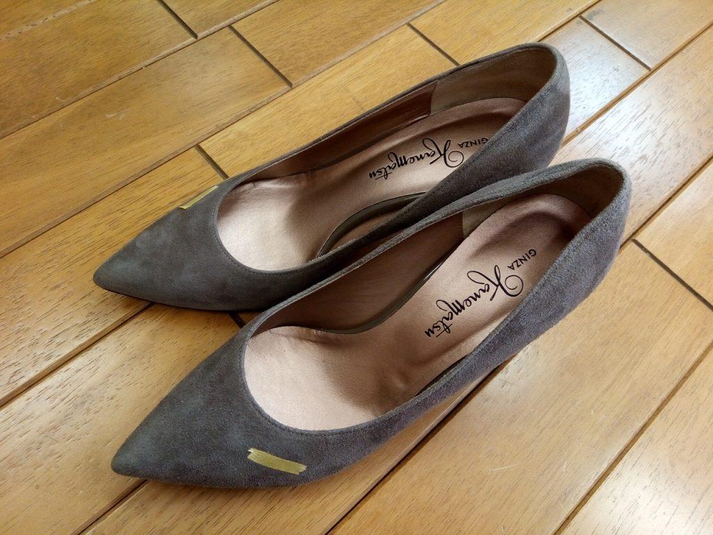 キツイ・小さい靴の幅出し靴修理45