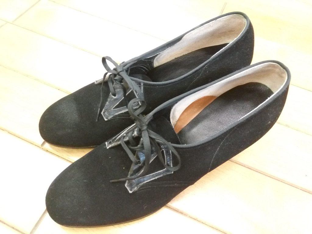 レディースインソール交換の靴修理