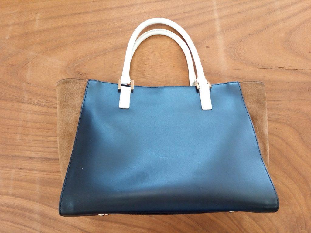 バッグの持ち手部分の破れ修理の鞄修理