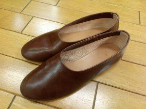 キツイ・小さい靴の幅出し靴修理47
