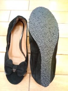 パンプスのオールソール交換の靴修理