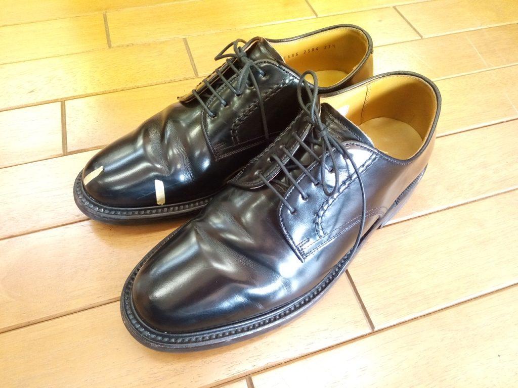 キツイ・小さい靴の幅出し靴修理48
