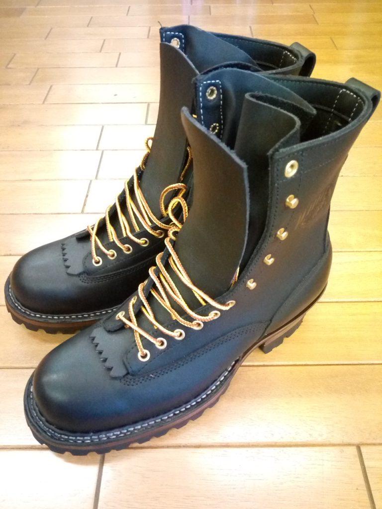 ホワイツのブーツのインソール貼りの靴修理